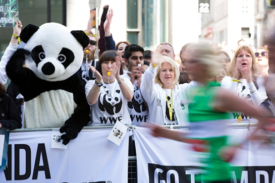 WWF-UK The Panda Made Me Do It London Marathon. 13/04/14